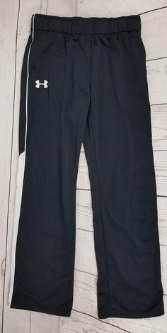 14bc8709b4b Under Armour Boys Youth XL Pants Loose Fit Athletic Basketball Pants YXL  Black