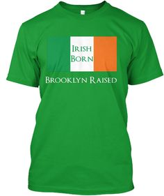 Show your Irish and Brooklyn pride!