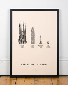 BARCELONA POSTER by Me&Him&You