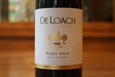 DeLoach Pinot Noir - Nicely Understated http://www.honestwinereviews.com/deloach-pinot-noir-review