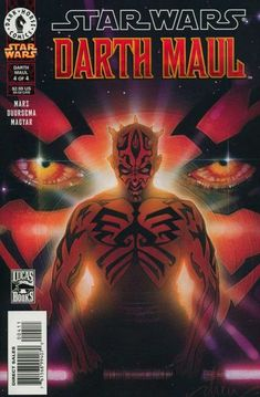 Cover for Star Wars: Darth Maul (2000 series) #4 [Regular Edition] 1234 MON