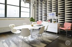 Twelve NYC's Pretty Office Upgrade by Homepolish New York City https://www.homepolish.com/mag/twelve