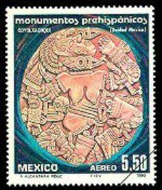 México,Coyolxauhqui Aztec goddess