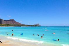 Waikiki omfg i've been there! it looks exactly like that too