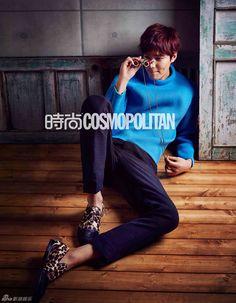 Lee Min Ho - Cosmopolitan Magazine March Issue '14