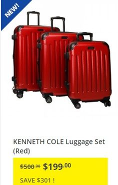 Hudsons Bay Canada Sale: $99 Delsey 2-Pc Luggage Set Plus Up to 65 ...