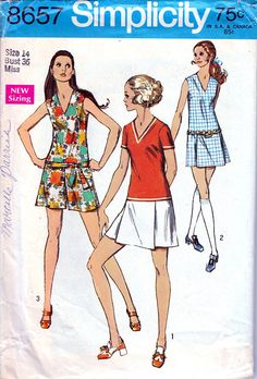 Check out this item in my Etsy shop https://www.etsy.com/listing/527233289/vintage-sewing-pattern-1960s-mini-pant