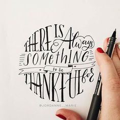 Search for something to be thankful for even in the darkest of times