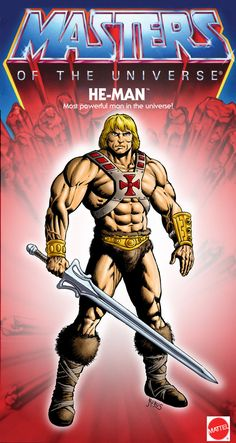 He Man - Most Powerful Man in the Universe 1982 by ~RubusTheBarbarian