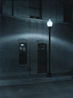 Street Lamp...eerily beautiful