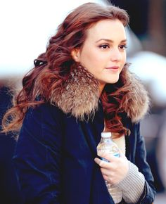 Leighton Meester red hair