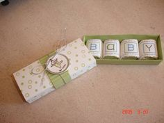too cute baby shower favor...