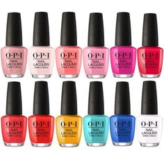 This nail polish collection by OPI is so fabulous! I want everything in this collections. these colors are so vibrant and beautiful #nailpolish