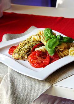 Kuchnia Wrze!: Łosoś pod oliwką