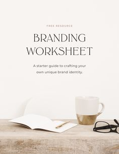 Need help to level-up your visuals and maintain brand consistency? This free brand discovery worksheet will help you to improve your branding Business Branding, Business Marketing, Digital Marketing Strategy, Content Marketing, Corporate Branding, Email Marketing, Personal Branding, Social Media Branding, Personal Logo
