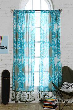 Gypsy Interior Design Dress My Wagon| Design Your Dream Travel Trailer| Vine Flourish Curtain