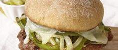 Ricetta Hamburger Dietetico Di Tacchino e Peperoni: 409 Calorie