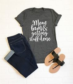 Find the perfect mama tee just for you! Choose from 3 different designs and multiple color options.
