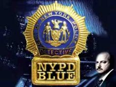 NYPD Blue Tuesday nights on ABC. The show had 12 seasons and 263 episodes air between 1993 and Blue Tv Show, Tv Theme Songs, Nypd Blue, Tv Themes, Cop Show, Miami Vice, Episode Guide, Old Shows, Great Tv Shows