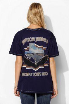 Midnight Rider Waylon Jennings Tee #urbanoutfitters