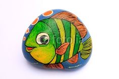 painted animal rocks | animal rock paint by akarakingdoms, Royalty free stock photos ...