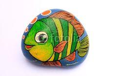 painted animal rocks | animal rock paint by akarakingdoms, Royalty free stock photos ...