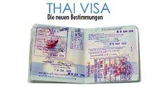 Thailand Visum Stand 2017: Die verschiedenen Visa Arten für Thailand im Überblick. Touristenvisum Thailand / Non-Immigrant Visum. Überblick neue Regelungen