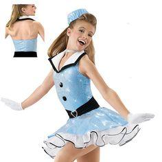 NEW Dance Skate Costume Tap Jazz Baton Twirl Pageant 4165 | eBay