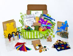 Join Green Kid Crafts for just $19.95/ month and your kid gets a themed box full of 3 earth-friendly arts, crafts, and science projects each month!