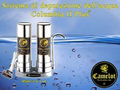 Sistema di depurazione dell'acqua Columbia II Plus. Filtri a carbone attivo e ceramica. Columbia, Salt, Filter, Salts, Colombia