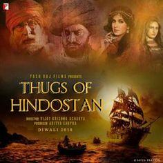 Thugs of Hindostan Hindi Movie Ringtones 2018 Movies, Movies Online, It Movie Cast, It Cast, Latest Movie Songs, Movie Ringtones, Yash Raj Films, Bollywood Posters, Adventure Film