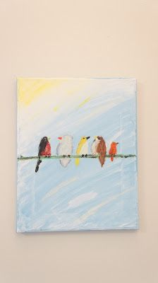 Inspire India: Gallery- Birds on a Line