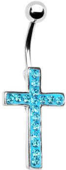 #Body Candy               #ring                     #Aqua #Paved #Perfect #Cross #Belly #Ring #Body #Candy #Body #Jewelry         Aqua Gem Paved Perfect Cross Belly Ring | Body Candy Body Jewelry                                       http://www.seapai.com/product.aspx?PID=1193968