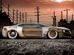 Brand new rust? p-shopped Camaro....