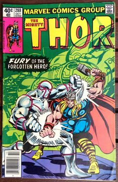 THOR #288 OCTOBER 1979 MARVEL COMICS BRONZE AGE FINE CONDITION