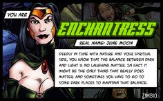 If I was on the 'Suicide Squad' I'd be Enchantress! #ZimbioQuiz #SuicideSquad - Quiz