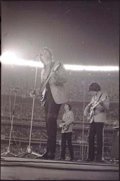The Beatles at Shea Stadium.