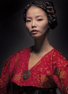 hanbok with broach