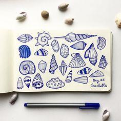Seashell Doodles