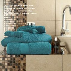 Miami EgyptianTeal Hand Towel Bath Towel &Bath Sheets – Linen and Bedding