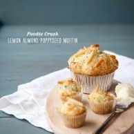 Lemon Almond Poppyseed Muffin Mania