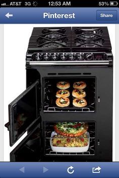 Great stove/oven for a tiny