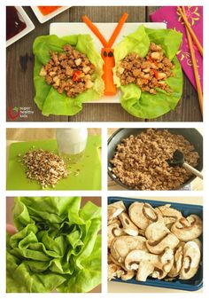 Quick and Crunchy Lettuce Wraps.  I was so surprised how much my kids loved lettuce this way! www.superhealthykids.com