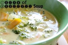 Cream of Broccoli Soup (Cheddar Style!) - The Cookie Writer Soup Recipes, Diet Recipes, Vegetarian Recipes, Cooking Recipes, Vegetarian Cheese, Cream Of Broccoli Soup, Broccoli Cheddar, Best Meat, Soup And Salad