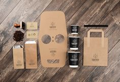 Kafetopio Coffee Roastery Logo and Packaging design