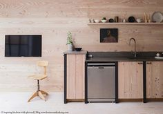 12 inspiring kitchens designed with plywood 12 D