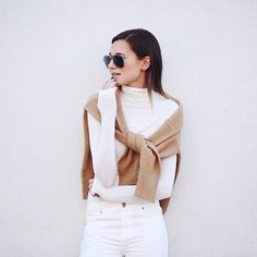 White fall/winter outfit