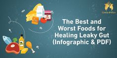 The Best and Worst Foods for Healing Leaky Gut (Infographic