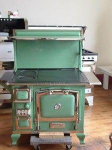 Wood Cook Stoves for Sale-Shop Online - Antique Stoves. Reminds me mums cold range cept oven on other side.