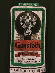 OURAY Sportswear Tee Shirt Gunstock Forest Green XXL Mountain Resort NH Buck | eBay